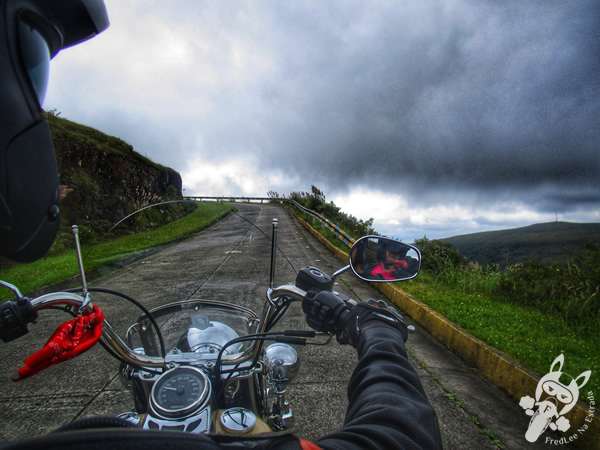 Harley-Davidson Heritage Softail Classic no Morro da Igreja | Urubici - SC