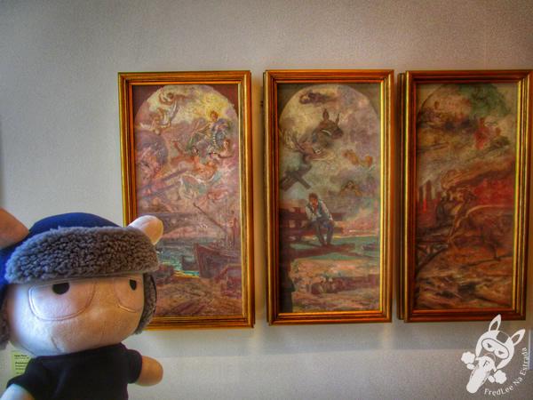 Sala de Saturno do Palazzo Pitti (Santi Corsi) | Pina_Luz | Pinacoteca de São Paulo - SP | FredLee Na Estrada