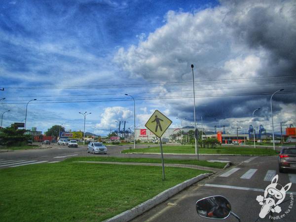 Avenida Portuária - Navegantes - SC | FredLee Na Estrada