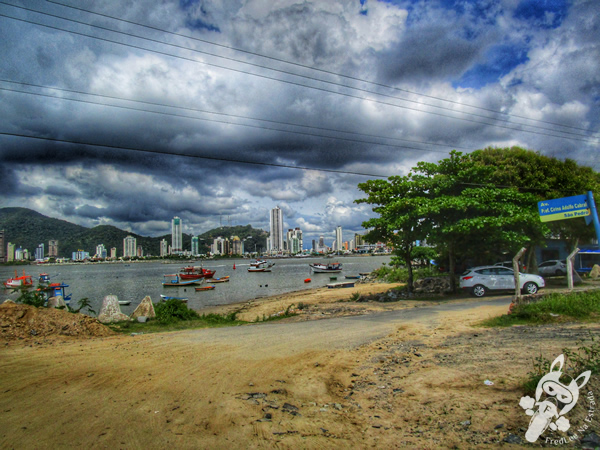 Rio Itajaí-açu | Molhe de Navegantes - SC | FredLee Na Estrada