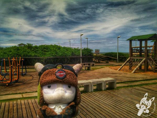 Pedra da Miraguaia - Praia do Gravatá | Navegantes - SC | FredLee Na Estrada