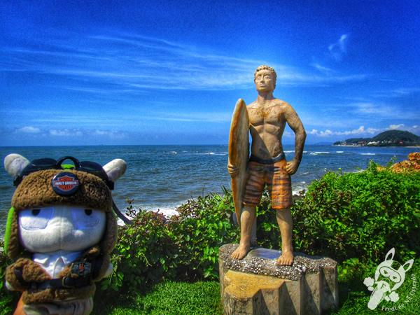 Costão das Pedras Brancas e Negras - Barra Velha - SC | FredLee Na Estrada