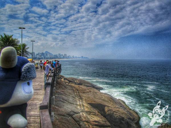 Pedra do Arpoador - Rio de Janeiro - RJ   FredLee Na Estrada