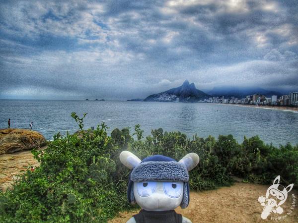 Praia de Copacabana - Rio de Janeiro - RJ   FredLee Na Estrada