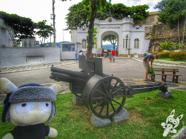 Praça General Tibúrcio - Urca - Rio de Janeiro - RJ | FredLee Na Estrada