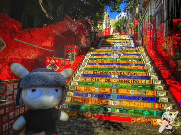 Escadaria Selarón - Rio de Janeiro - RJ | FredLee Na Estrada