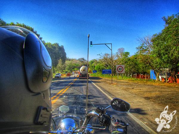 Pôr do sol na rodovia MG-341 | FredLee Na Estrada