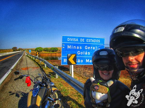 Divisa de estados: Minas Gerais e Goiás | FredLee Na Estrada
