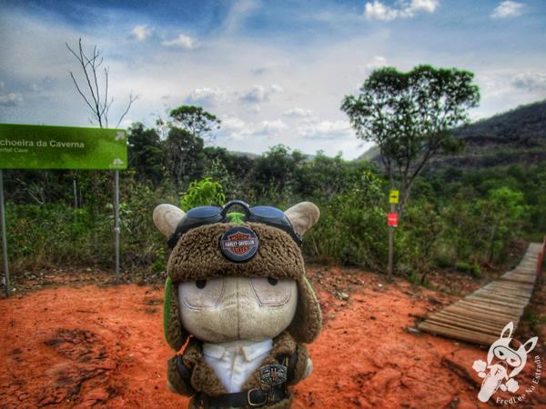 Tirolesa do Desespero | Santuário Ecológico Pedra Caída - Carolina - MA | FredLee Na Estrada