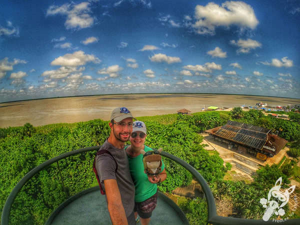 Mirante do rio no Mangal das Garças | Belém - PA | FredLee Na Estrada