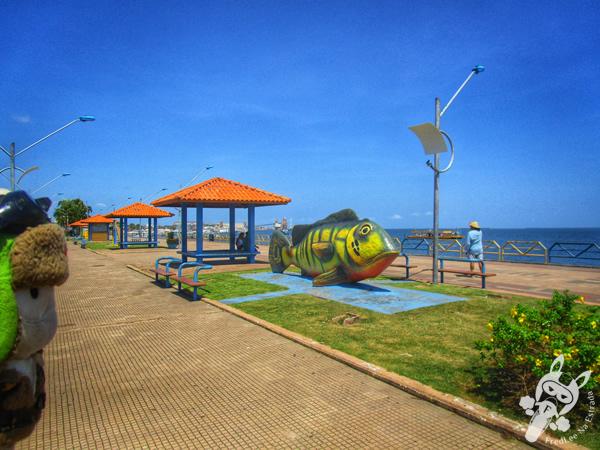 Encontro das águas | Orla de Santarém - PA | FredLee Na Estrada