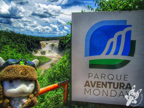 Parque Aventura Monday - Saltos del Monday   Presidente Franco - Alto Paraná - Paraguai   FredLee Na Estrada