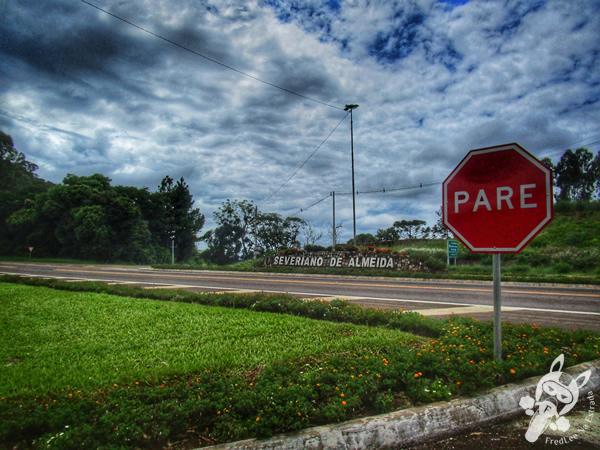 Trevo de acesso a Severiano de Almeida - RS | Rodovia BR-153 | FredLee Na Estrada
