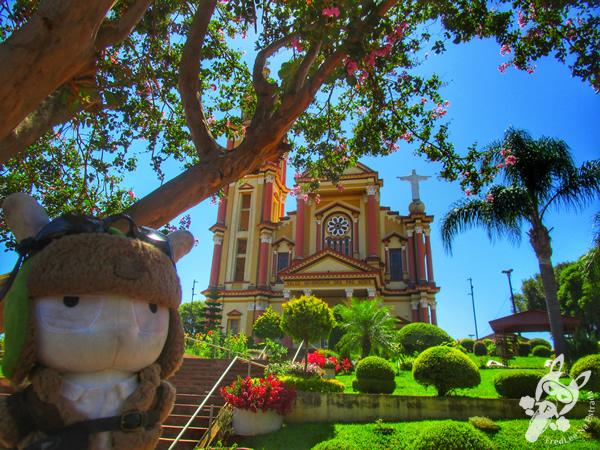 Igreja Matriz Nossa Senhora da Saúde | Tapejara - RS | FredLee Na Estrada