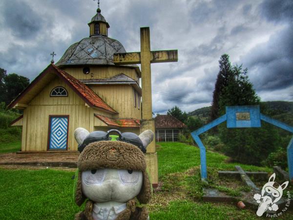 Igreja Ucraniana do Divino Espírito Santo | General Carneiro - Paraná - Brasil | FredLee Na Estrada