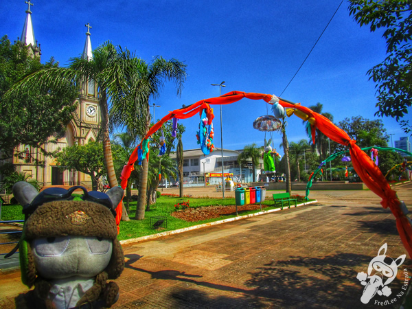 Paróquia São Luiz Gonzaga | Xaxim - SC | FredLee Na Estrada