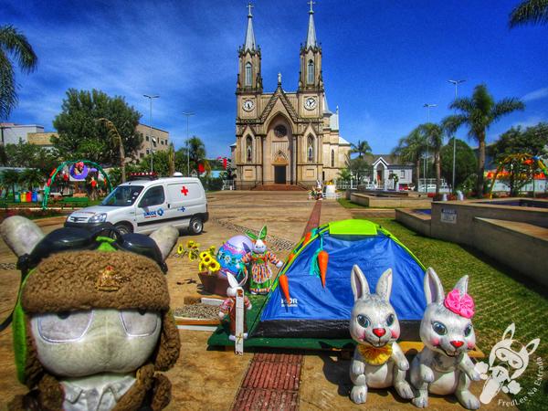 Praça Frei Bruno | Xaxim - SC | FredLee Na Estrada