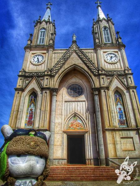 Baú do Artesanato na praça Frei Bruno | Xaxim - SC | FredLee Na Estrada