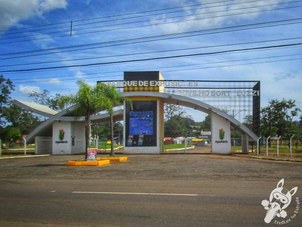 Praça central de Abelardo Luz - SC | FredLee Na Estrada