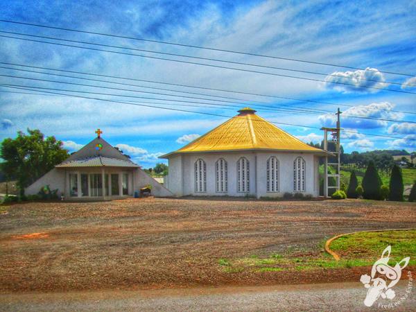 Paróquia São Sebastião | Abelardo Luz - SC | FredLee Na Estrada