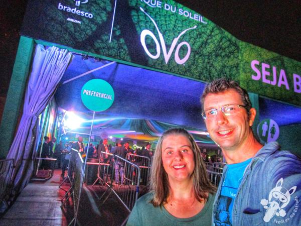 OVO - Cirque du Soleil | São Paulo - SP | FredLee Na Estrada
