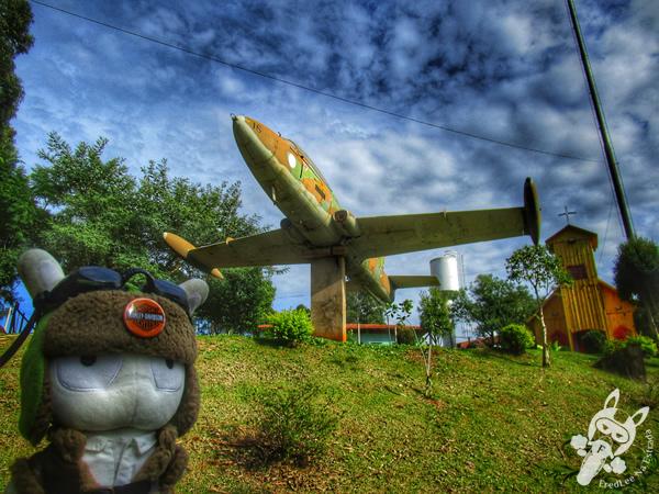 Avião Xavante da Força Aérea Brasileira | Paulo Bento - RS | FredLee Na Estrada