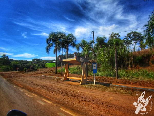 Praça da matriz | Jacutinga - RS | FredLee Na Estrada