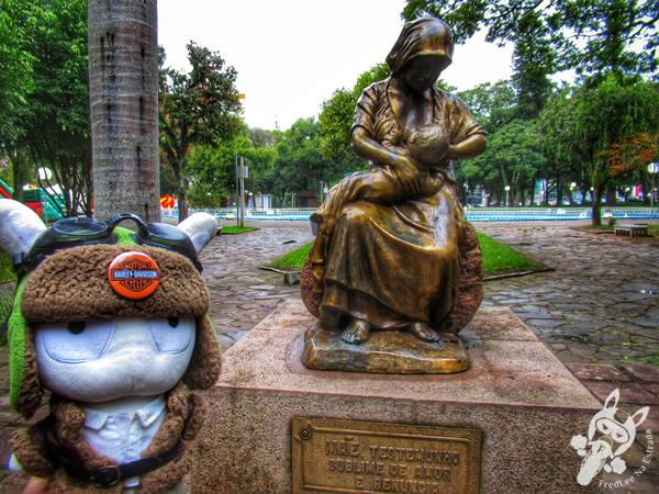 Praça Getúlio Vargas | Santa Cruz do Sul - Rio Grande do Sul - Brasil | FredLee Na Estrada
