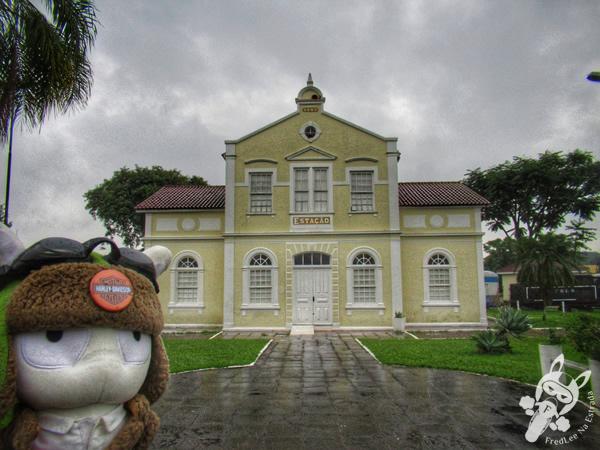 Centro de Cultura Jornalista Francisco José Frantz - Antiga Estação Férrea | Santa Cruz do Sul - Rio Grande do Sul - Brasil | FredLee Na Estrada