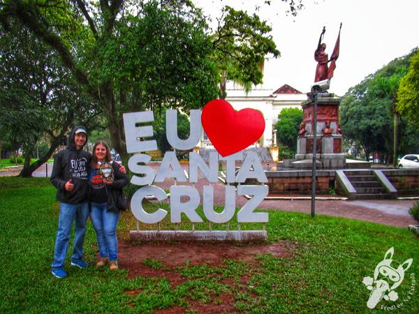 Praça da Bandeira | Santa Cruz do Sul - Rio Grande do Sul - Brasil | FredLee Na Estrada