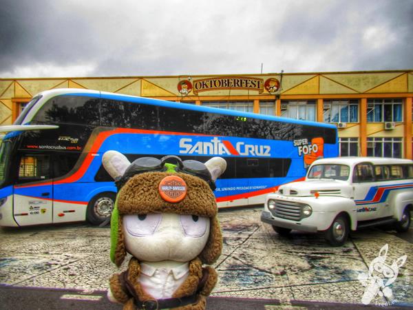 Ônibus da Viação União Santa Cruz - 19ª Festa das Cucas - Parque da Oktoberfest | Santa Cruz do Sul - Rio Grande do Sul - Brasil | FredLee Na Estrada