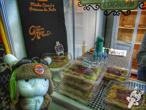 Churras Cuca (O Cruzeiro Café e Gastropub, Rio Pardo – RS) - 19ª Festa das Cucas - Parque da Oktoberfest | Santa Cruz do Sul - Rio Grande do Sul - Brasil | FredLee Na Estrada