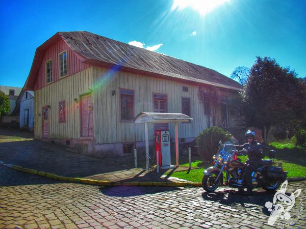 Postinho Esso - Vila Histórica de Evangelista | Casca - RS | FredLee Na Estrada