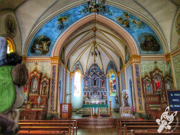 Gruta de Nossa Senhora das Graças - Vila Histórica de Evangelista | Casca - RS | FredLee Na Estrada