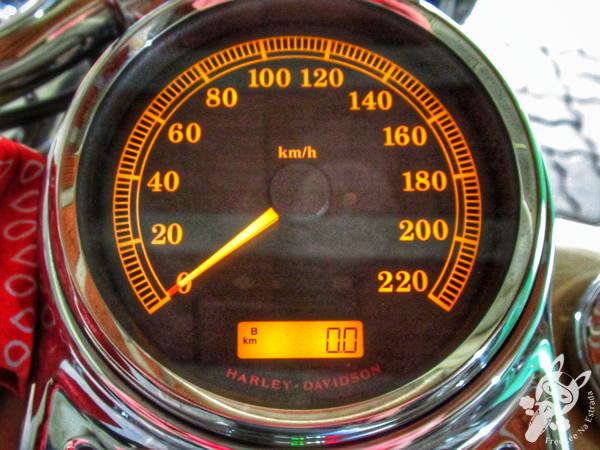 Hodômetro da Harley-Davidson Heritage Softail Classic zerado | FredLee Na Estrada