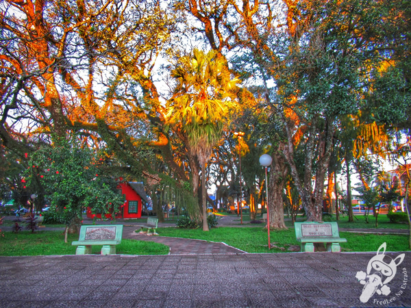 Praça da matriz | São Luiz Gonzaga - RS | FredLee Na Estrada