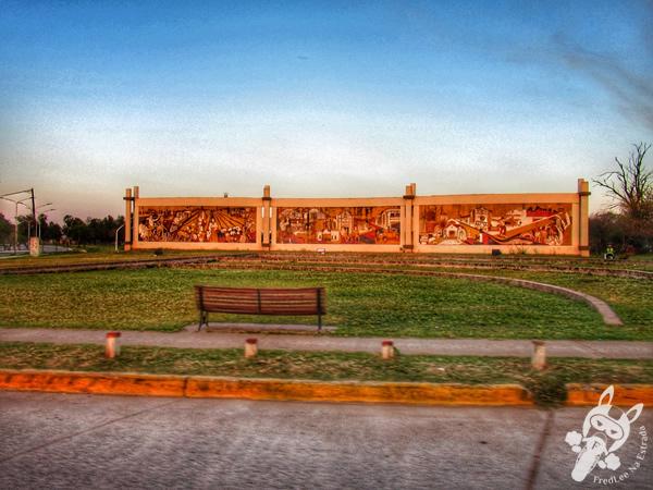 Mural del Centenario | Presidencia Roque Sáenz Peña - Chaco - Argentina | FredLee Na Estrada