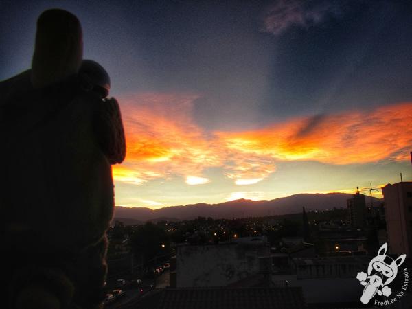 Pôr do Sol em Salta - Salta - Argentina   FredLee Na Estrada