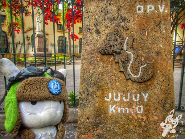 Km 0 de Jujuy | San Salvador de Jujuy - Jujuy - Argentina | FredLee Na Estrada