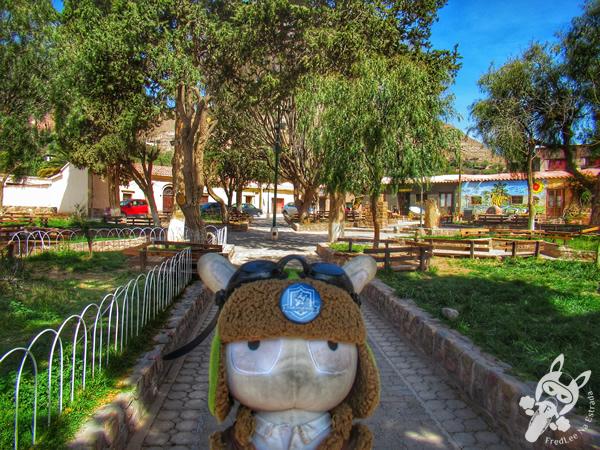 Plaza Sargento Antonino Peloc | San Francisco de Tilcara - Jujuy - Argentina | FredLee Na Estrada
