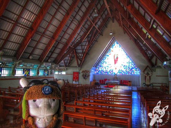 Igreja Sagrado Coração de Jesus | Viadutos - RS | FredLee Na Estrada