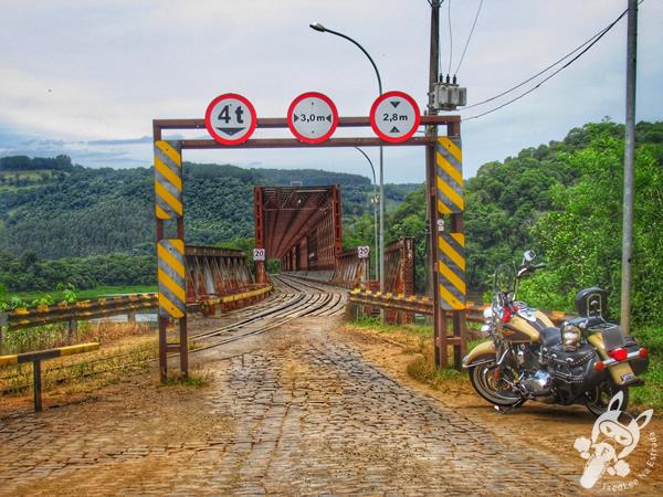 Ponte Rodoferroviária | Marcelino Ramos - RS | FredLee Na Estrada
