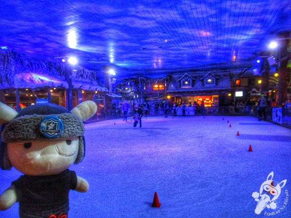 Patinação no gelo - Snowland | Gramado - RS | FredLee Na Estrada