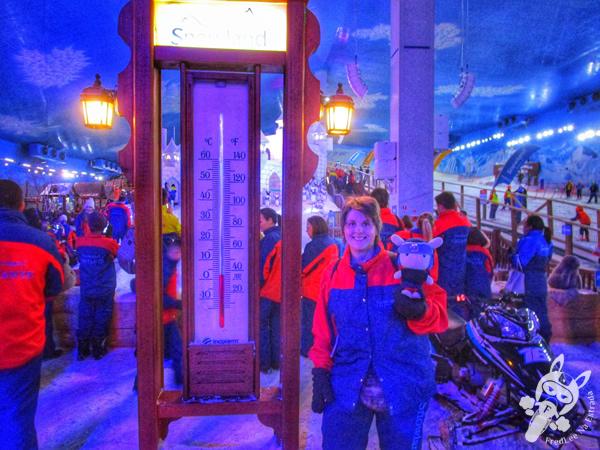 Montanha de Neve - Snowland | Gramado - RS | FredLee Na Estrada