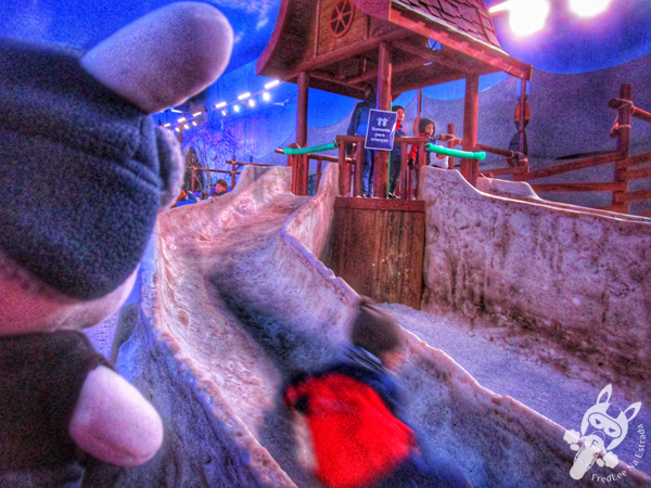 Playground na neve - Snowland | Gramado - RS | FredLee Na Estrada
