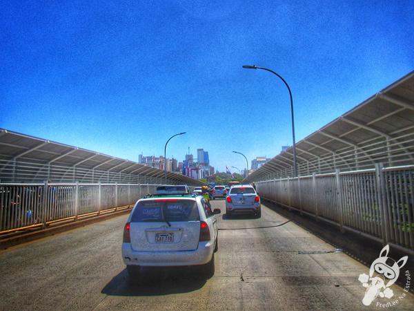 Ponte Internacional da Amizade | FredLee Na Estrada