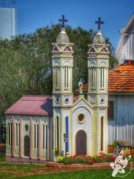 Réplica da antiga Igreja São Pedro Apóstolo | Itá - SC | FredLee Na Estrada