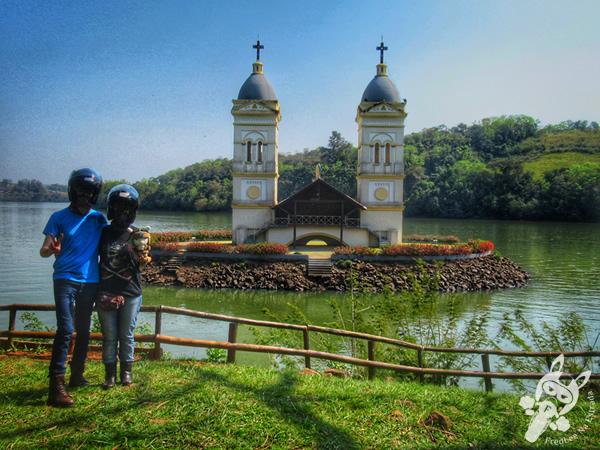 Torres da antiga Igreja São Pedro Apóstolo | Itá - SC | FredLee Na Estrada