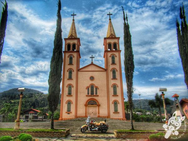 Igreja Santa Juliana | Salto Veloso - SC | FredLee Na Estrada