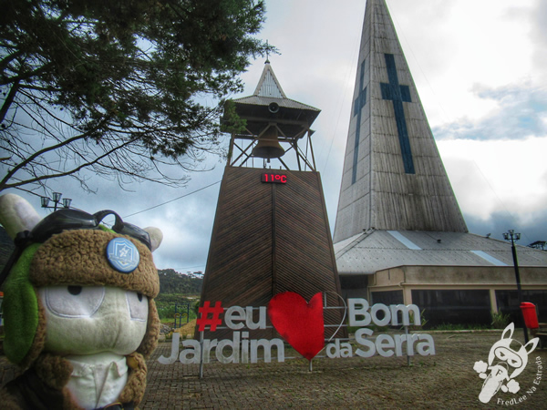 Igreja de Nossa Senhora do Perpétuo Socorro | Bom Jardim da Serra - Santa Catarina - Brasil | FredLee Na Estrada